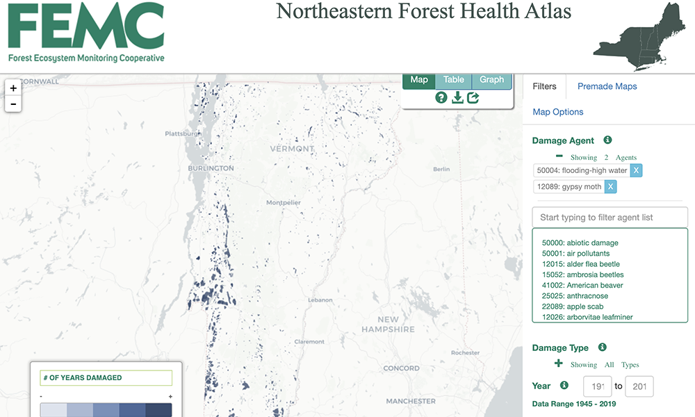 Forest Health Atlas